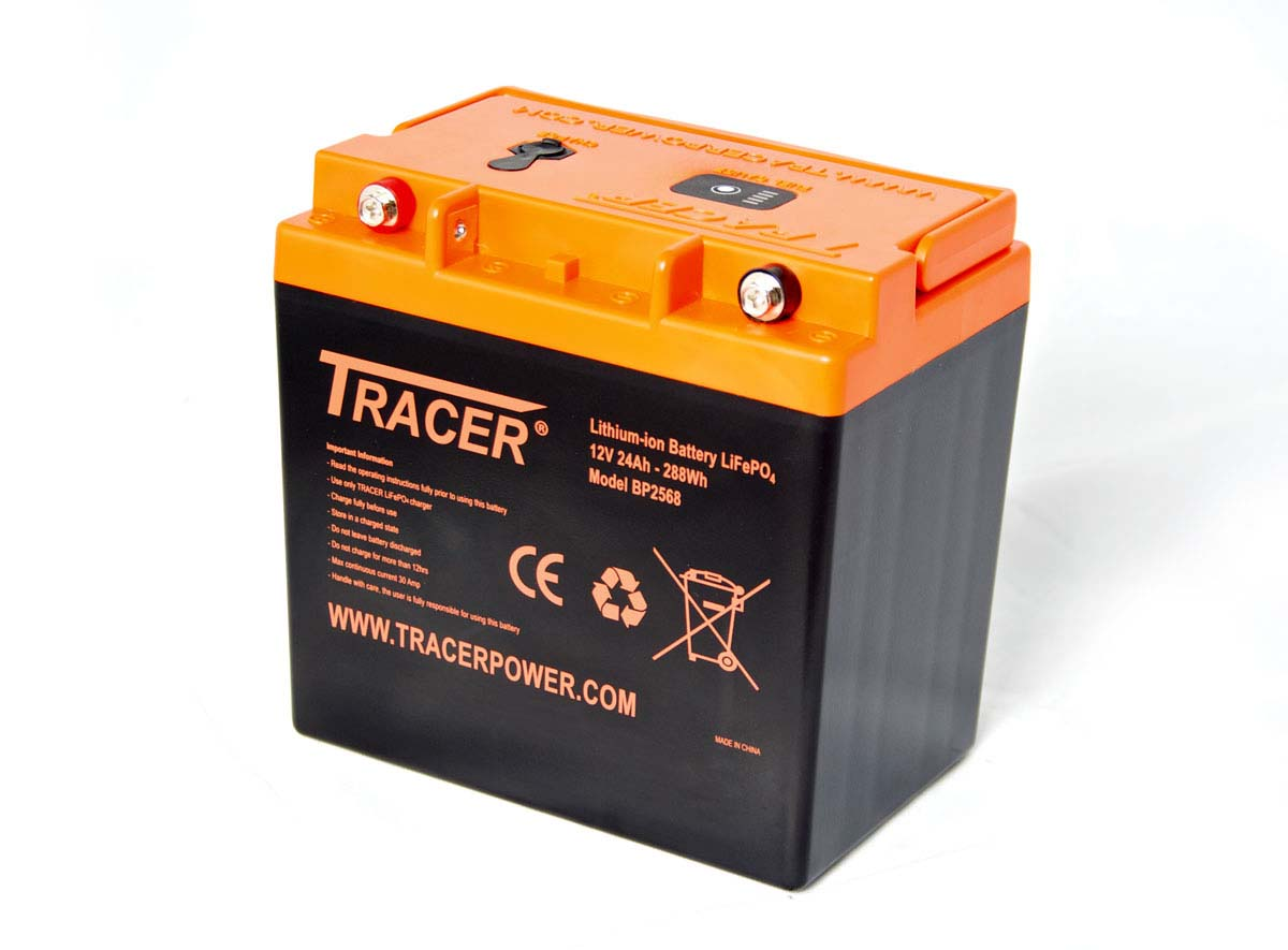 tracer 12v 24ah lifepo4 battery pack. Black Bedroom Furniture Sets. Home Design Ideas