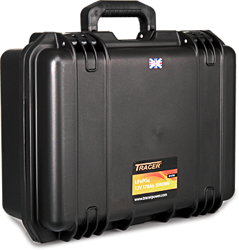 Tracer LiFePO4 Portable Carry Case Kits