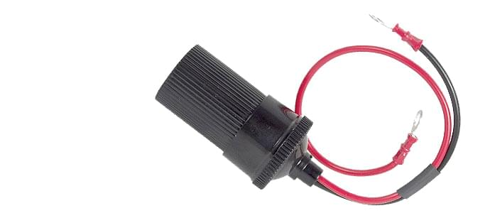Golf Battery to 12V Socket Lead