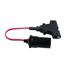 T-Bar (std) to 12V Cigar Socket 0.25m